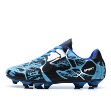 2017 parent-children soccer shoes New Design High Quality Fashion Used Soccer Shoes Unisex Football Shoes