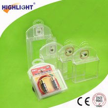 AM/RF Acrylic anti theft DVD safer keeper S003 EAS tap Safer box