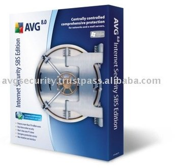 AVG Internet Security SBS (Small Business Server) Edition software 160+1 Computers 2 Years