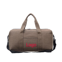 Wholesale cheap clothing storage canvas tote duffle bag