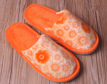 2016 sunflower washable warm winter wholesale slippers indoor