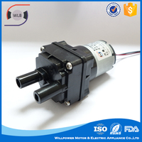 Low voltage high temperature dc mini water pump 6v with self priming centrifugal pump