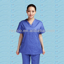 Medical disposable scrub suits scrub coat includes coat and pants