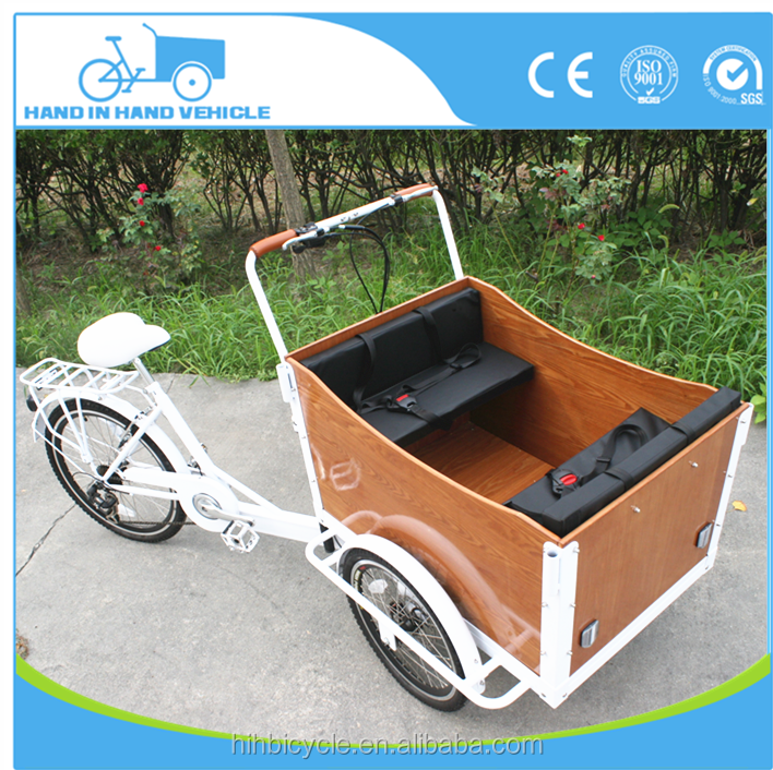 new design cargo bike for sale adult tricycle with child safe seat