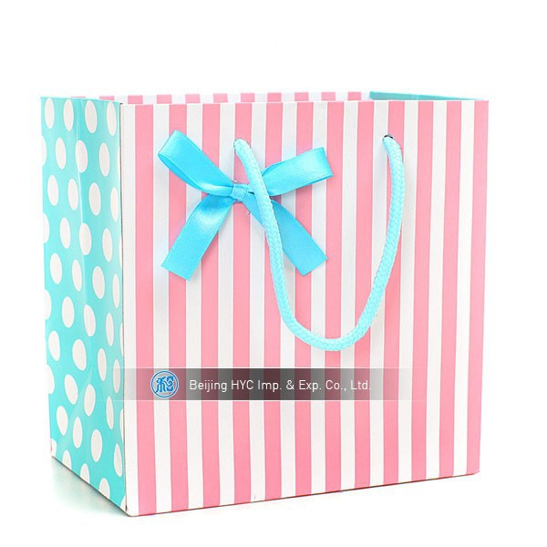 Cost production creative decorative paper bags paper bag making