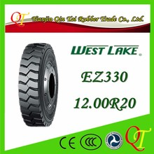 Heavy haul freight trailer steel wire tire 12.00R20