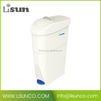Plastic sanitary dust bin 18L in China