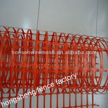 2013 latest model Plastic clear safety fence 16-year factory