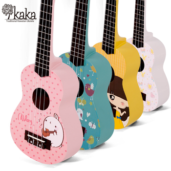 "kaka ukulele china ukulele manufacturers kaka lovely 21"" kus-121"