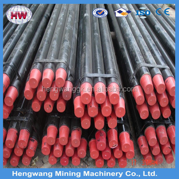 API water well drill rod / aw nw geological core drill rod/drill pipe