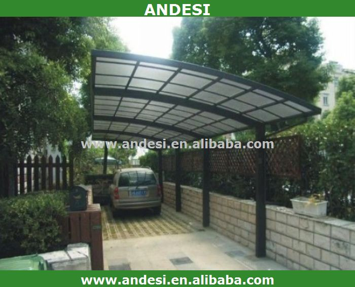 double outdoor aluminum polycarbonate roof carport buy double carport aluminum aluminium. Black Bedroom Furniture Sets. Home Design Ideas