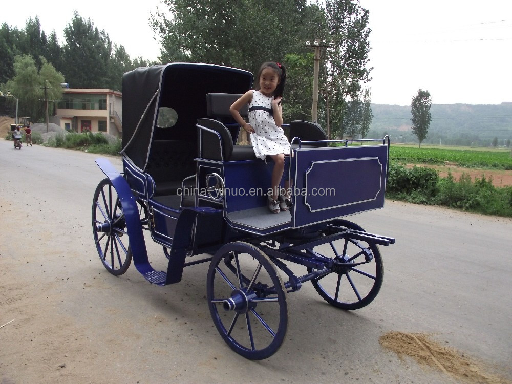 Yizhinuo Sightseeing horse carriage/horse wagon tourist carriage