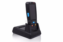 handheld/mobile computer with 1D 2D barcode scanner/touch screen display WIFI GPS bluetooth NFC/RFID cradle Smartpeak C5000