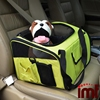 Foldable Pet Car Seat Carrier Airline Approved for Small and Medium Dog Cat Lookout