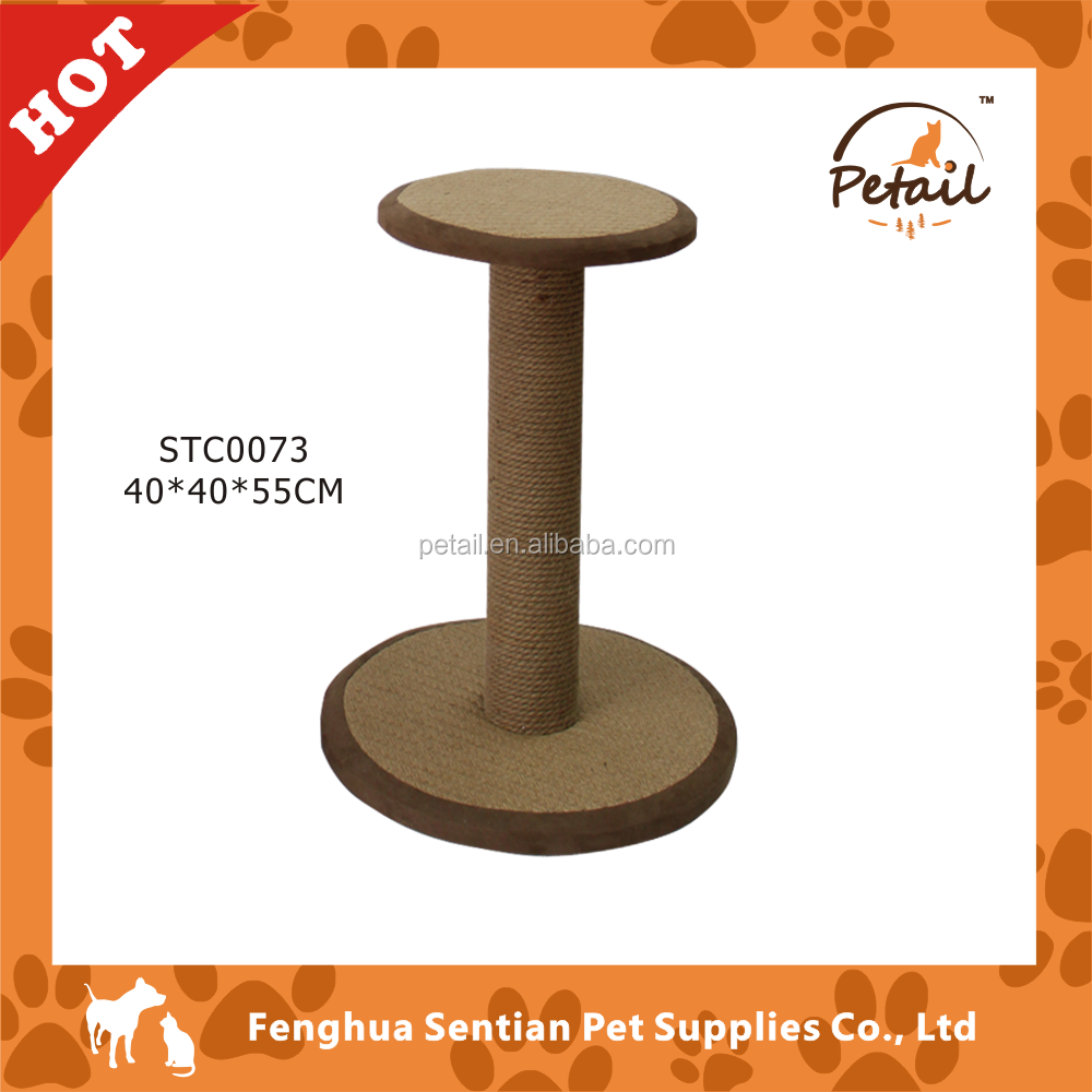 double plate cat scratching post sisal fabric for cat scratching posts