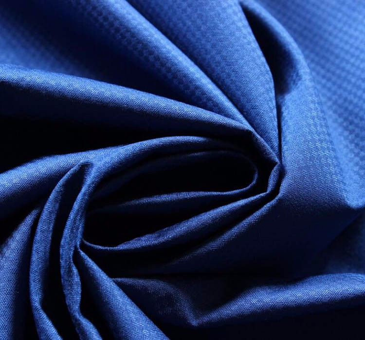 OEM accepted new style polyester pongee fabric Embossed for Interlining