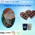 High quality FDA food grade silicone rubber for making chocolate mold