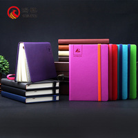 L082-A Wholesale spiral notebook leather cover,hard cover leather note books,leather flash memory notebook