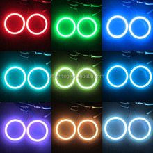 Factory direct sale 50mm 60mm 80mm 100mm and other sized COB DC12V rgb led angel eyes colors