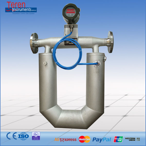 Coriolis Mass Gas Flow Meter for Liquefied Petroleum Gas (LPG)