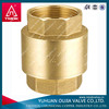 high pressure of spring loaded forged brass 10 mm brass compression check valve