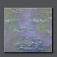 High quality pure hand painted famous painting water lilies claude monet