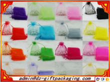 Mixed Color Organza Bag Wholesale /New Design Organza Pouch /Large Organza bag