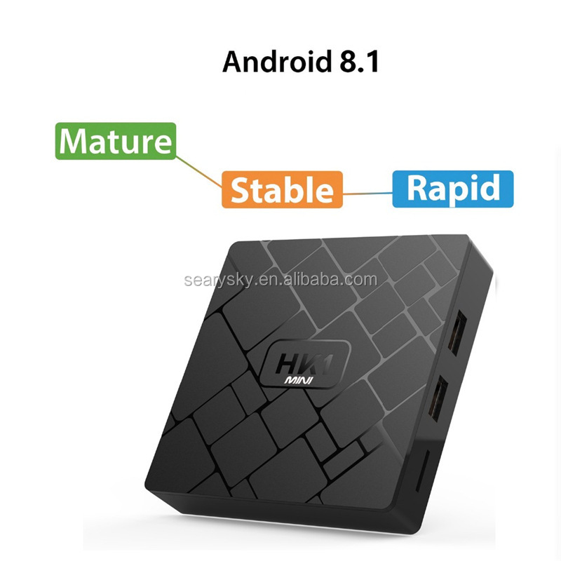 New system android 8.1 smart tv box RK3229 2G16G Wholesale Network TV box