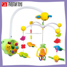 Multifunctional Rotating Musical Mobile Toys Baby Crib Bed Hanging Toy