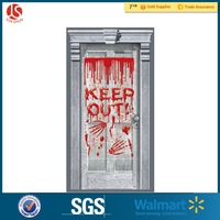 Holiday decorations Plastic Door Poster Cover for Halloween