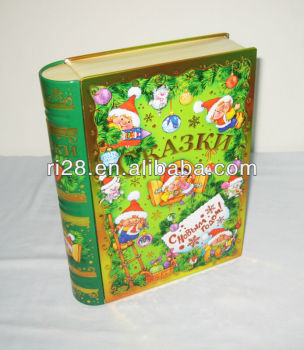 Book shape metal box