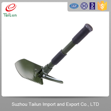 3 in 1 garden steel camp shovel multi tools with shovel, saw, opener