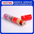cheap hexagonal wholesale wooden color pencil