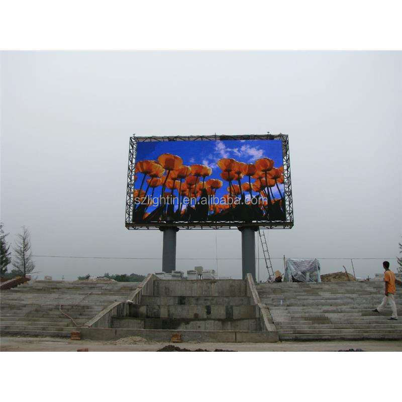 Waterproof Outdoor Programmable LED Video Display Wall P6 Multi Color LED Panel Advertising Screen