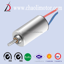 micro coreless dc motor CL-0820 for massager and quadcopter