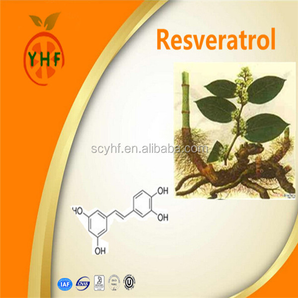 High quality resveratrol 98% water soluble resveratrol