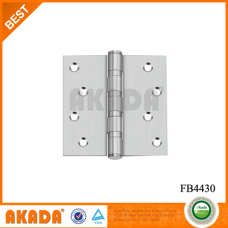 4 inch square stainless steel butt door Hinges