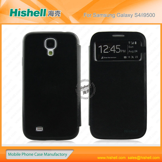 pcs nontoxic pc+pu hot selling mobile phone case for samsung s4