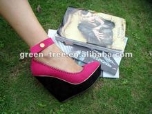 2014 elegant wedge heel shoes