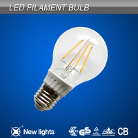 4W Led Filament Light A60 Bulbs Lamp Filament Led Bulb E27
