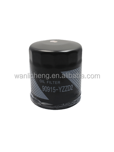 High filtration auto cars oil filter 90915-YZZD2 for TOYOTA