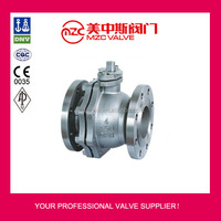 1/2-14 inch ANSI 150LB Stainless Steel Flange Ends Ball Valves