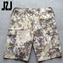 2016 newly breathable military camoufalge cool cargo shorts