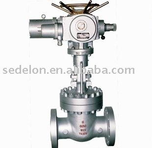 300LB Flanged Motorize /Electrical operated gate valve