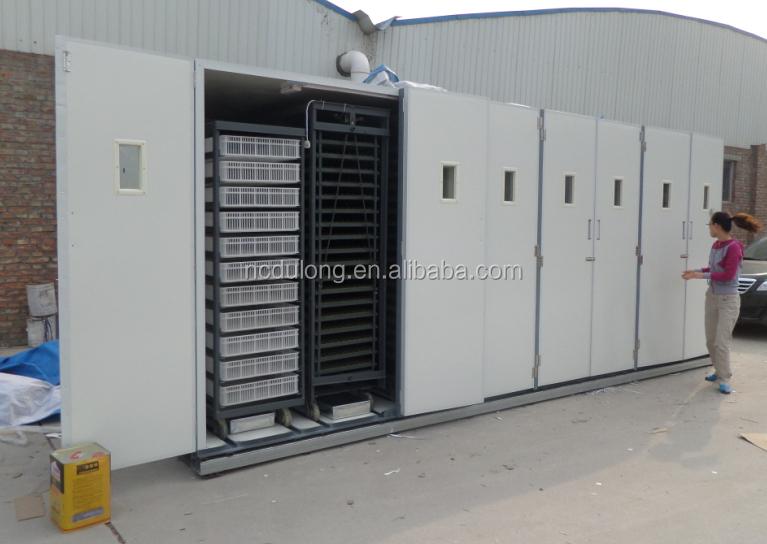 Hot sale big capacity 127296 egg incubator for quail eggs