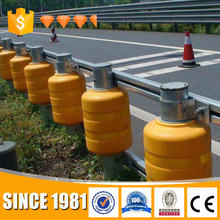 Directly sale roller safety barrier highway guardrail