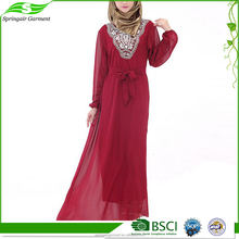 Hangzhou Dubai Abaya Wholesale Turkish Maxi Muslim Evening Dress