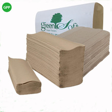 Green soft Mulitiflod Paper Towel For USA market