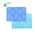 custom food grade non stick silicone baking/oven mat