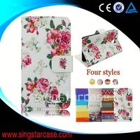 China Supplier Custom Phone Cases Leather Flip Case for wiko sublim